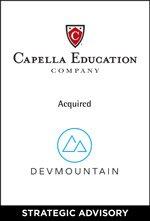 Capella Education Company Acquired DevMountain