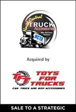 North Central Truck Accessories Acquired by Toys for Trucks