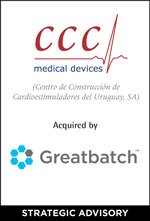 CCC Medical Devices Acquired by Greatbatch