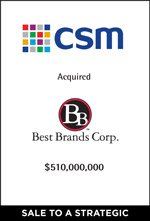 CSM Acquired Best Brands Corp.