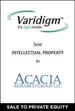 Varidigm sold Intellectual Property